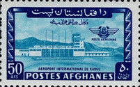 [Airmail - Inauguration of Kabul Airport, Typ LF2]