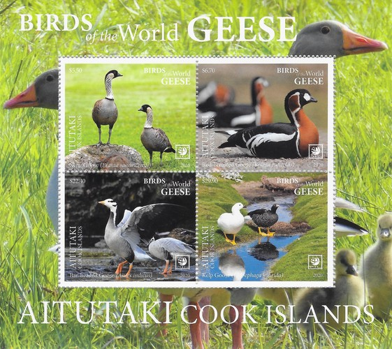 [Birds of the World - Geese, type ]