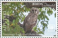 [Birds of the World - Owls - White Frame, type AAL]