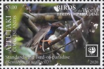 [Birds of the World - Birds of Paradise, type AAX]