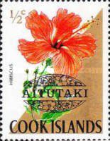 [Cook Island Postage Stamps Overprinted, type AK]