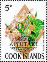 [Cook Island Postage Stamps Overprinted, type AO]