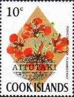 [Cook Island Postage Stamps Overprinted, type AP]