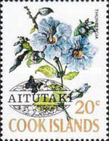 [Cook Island Postage Stamps Overprinted, type AQ]