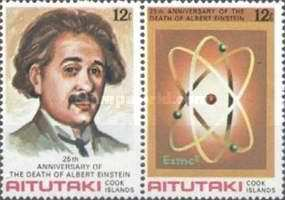 [The 25th Anniversary of the Death of Albert Einstein, 1879-1955, type GY]