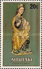 """[Christmas - Sculptures of """"The Virgin and Child"""", type HU]"""