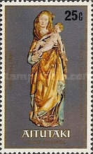 """[Christmas - Sculptures of """"The Virgin and Child"""", type HV]"""
