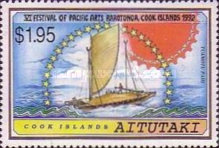 [The 6th Anniversary of the Festival of Pacific Arts, Rarotonga - Sailing Canoes, type PM]