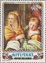 """[Christmas - Different Details from """"Virgin's Nativity"""" by Guido Reni, type PO]"""