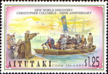 [The 500th Anniversary of the Discovery of America by Columbus, type PS]
