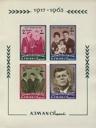 [In Memorial of J.F. Kennedy - Overprinted with New Currency, Typ ]