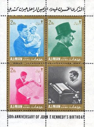 [Airmail - The 50th Anniversary of the Birth of John F. Kennedy, 1917-1963, Typ ]