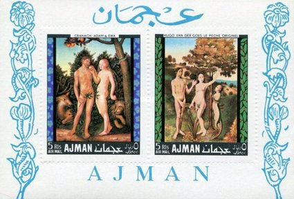 [Airmail - European Paintings - Adam and Eve, Typ ]