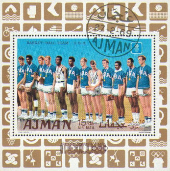 [Airmail -  Olympic Games - Mexico City, Mexico - Gold Medal Winners, Typ ]