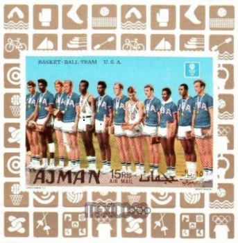 [Airmail - Olympic Games - Mexico City, Mexico - Gold Medal Winners, type ]