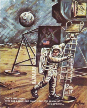 [Airmail - First Manned Moon Landing, type ]