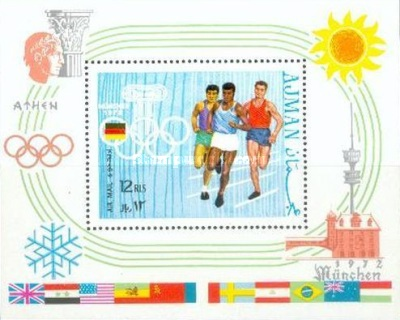 [Airmail - Olympic Games - Munchen, Germany, type ]