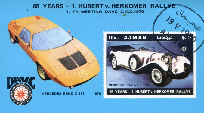 [Airmail - Old Cars, Typ ]