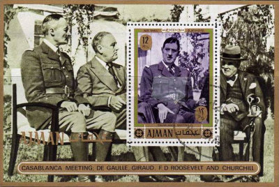 [Airmail - General Charles de Gaulle, Typ ]