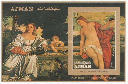 [Airmail - Paintings of Tiziano Vecellio, Typ ]