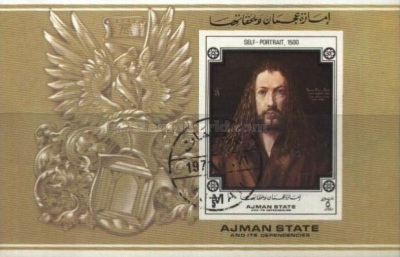 [Airmail - The 500th Anniversary of the Birth of Albrecht Durer, 1471-1528, type ]