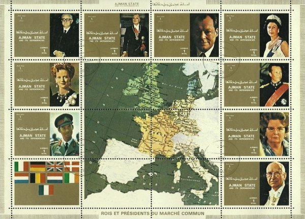 [Airmail - Leaders of Countries in the European Community, type ]