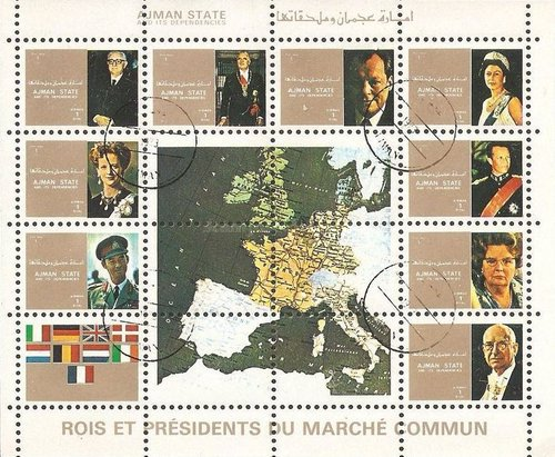[Airmail - Leaders of Countries in the European Community - Small Size, type ]