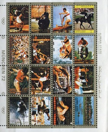 [Airmail - Olympic Games - Munchen, Germany - Small Size, type ]