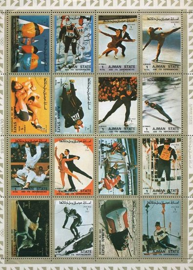 [Airmail - Olympic Games, Typ ]
