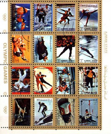 [Airmail - Olympic Games - Small Size, type ]