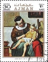 [Airmail - Welfare Paintings, Typ AAL]