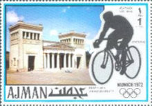 [Airmail - Olympic Games - Munich, Germany, Typ ABQ]