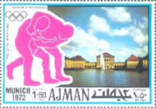 [Airmail - Olympic Games - Munich, Germany, Typ ABR]