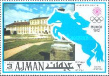 [Airmail - Olympic Games - Munich, Germany, Typ ABT]