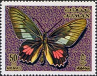 [Airmail - Butterflies, type ABY]