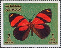 [Airmail - Butterflies, type ACC]