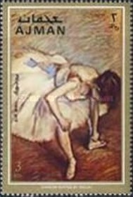 [Paintings from French Impressionist Edgar Degas, Typ AFM]