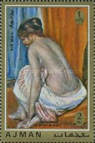 [Airmail - Paintings from French Impressionist Auguste Renoir, type AGD]