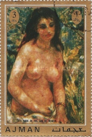 [Airmail - Paintings from French Impressionist Auguste Renoir, Typ AGE]
