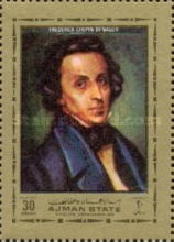 [Frederic Chopin, Polish Composer and Pianist, 1810-1849, type AYO]