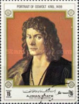 [The 500th Anniversary of the Birth of Albrecht Durer, 1471-1528, type BBD2]