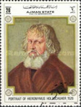 [The 500th Anniversary of the Birth of Albrecht Durer, 1471-1528, type BBD3]