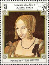 [The 500th Anniversary of the Birth of Albrecht Durer, 1471-1528, тип BBD4]