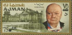 [Winston Churchill - Overprinted with New Currency, Typ BV2]