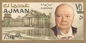 [Winston Churchill - Overprinted with New Currency, Typ BV3]