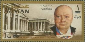 [Winston Churchill - Overprinted with New Currency, Typ BW2]