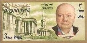 [Winston Churchill - Overprinted with New Currency, Typ BY3]