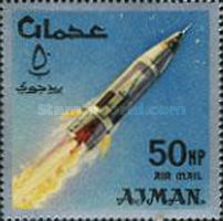 [Airmail - Space Achievements, type CH]