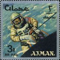 [Airmail - Space Achievements, type CJ]