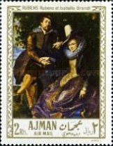 [Airmail - European Paintings, Typ HJ]